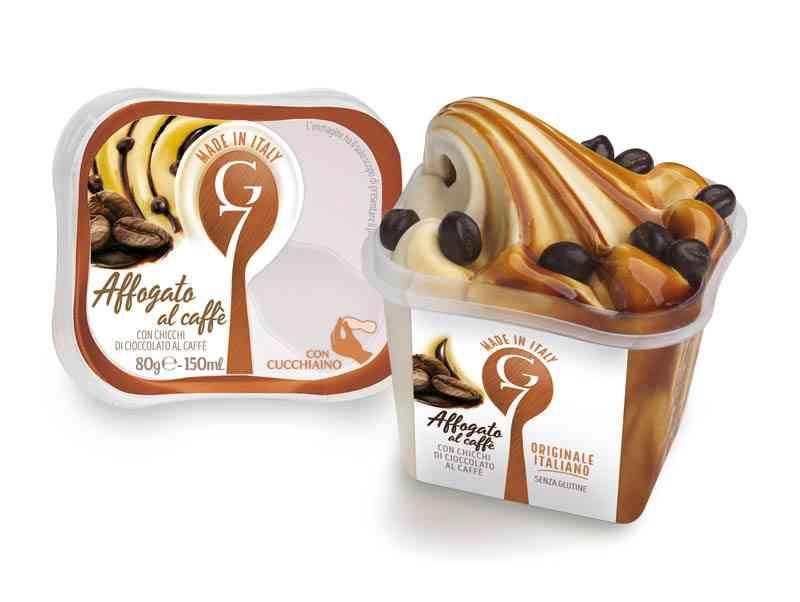 Affogato al caffé G7 gelati