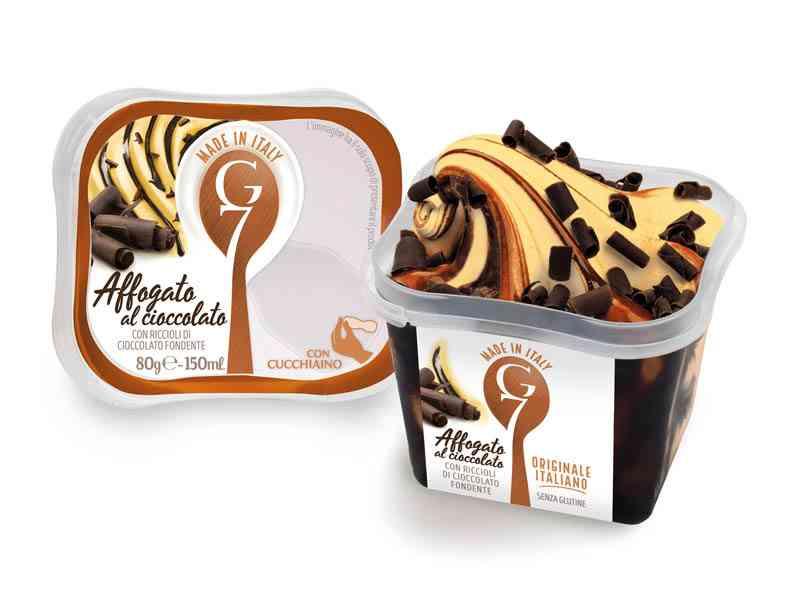 Monodose affogato al cioccolato G7 gelati